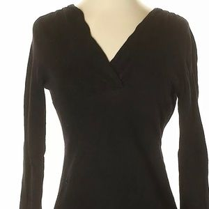 Banana Republic Women Black Pullover Sweater SP